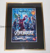 Автографы: Мстители (The Avengers, 2012). 8 подписей