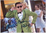 Автограф: PSY. Пак Чэ Сан. «Gangnam Style»