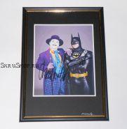 Автографы: Майкл Китон, Джек Николсон. Бэтмен ( 1989 )